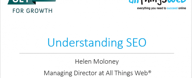 Understanding SEO presentation slide