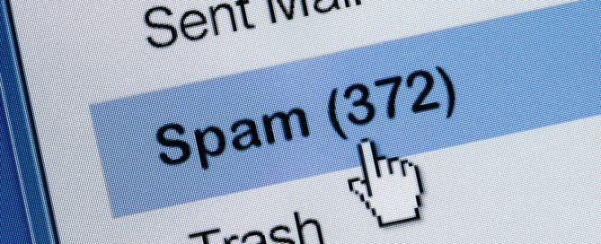 Spam inbox folder