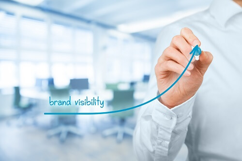 Brand visibility graphic