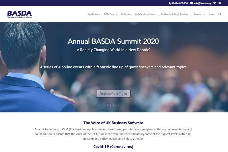 BASDA Website