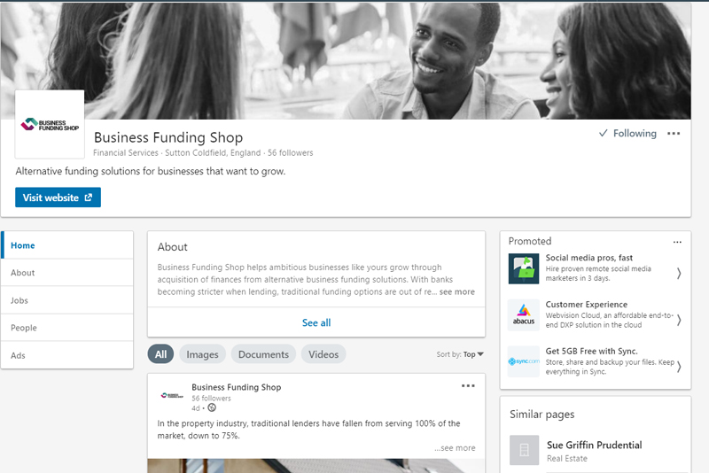 Business Funding Shop LinkedIn
