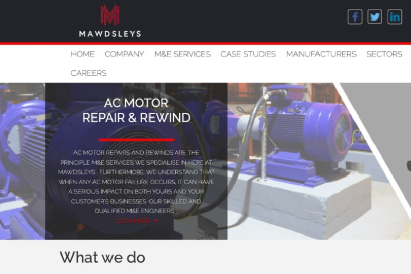 Mawdsleys website