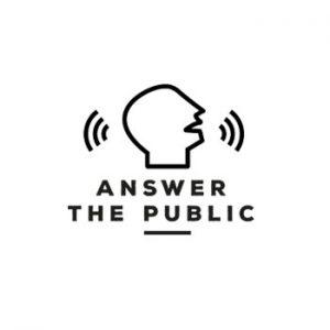 Answer the public logo