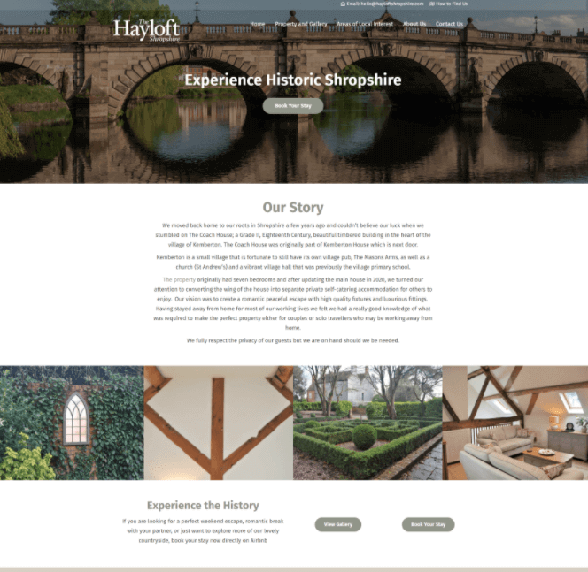 Hayloft Website Image