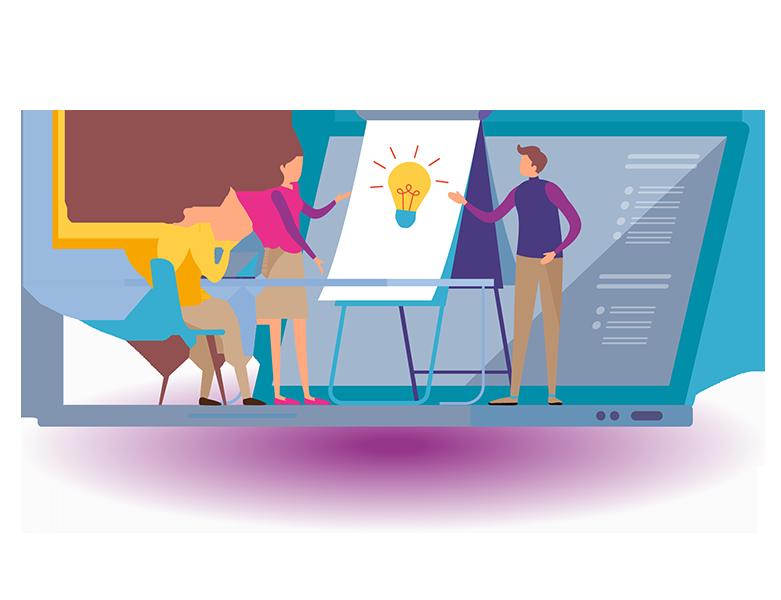 Digital Marketing Training Graphic