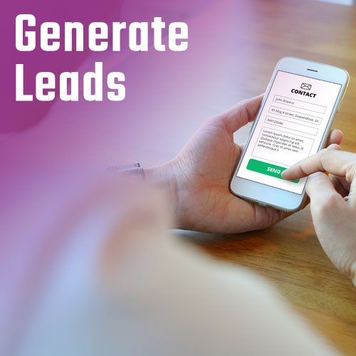 Generate Leads with your online marketing