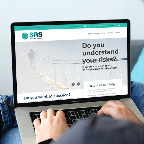 Sense Risk Solutions website